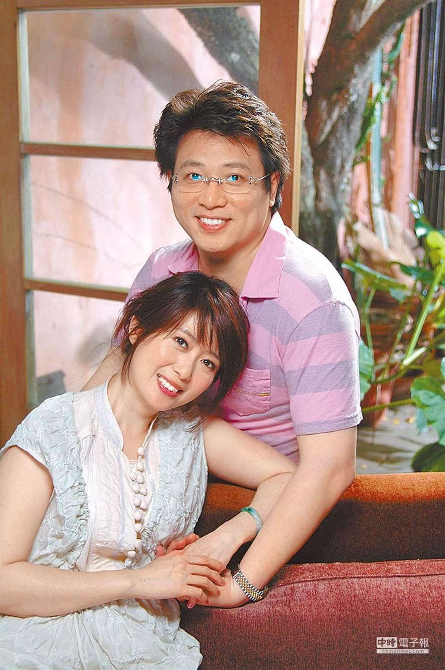 孟庭葦和前夫張志鵬恩愛畫面已成回憶。(圖/中時資料照)