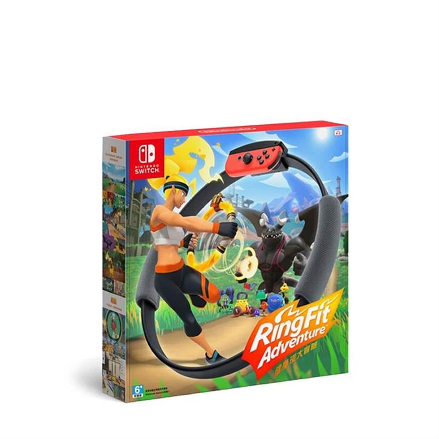 beauty STAGE美麗台「Nintendo Switch健身環大冒險-中文版」,21日限量,2550元。(新光三越提供)