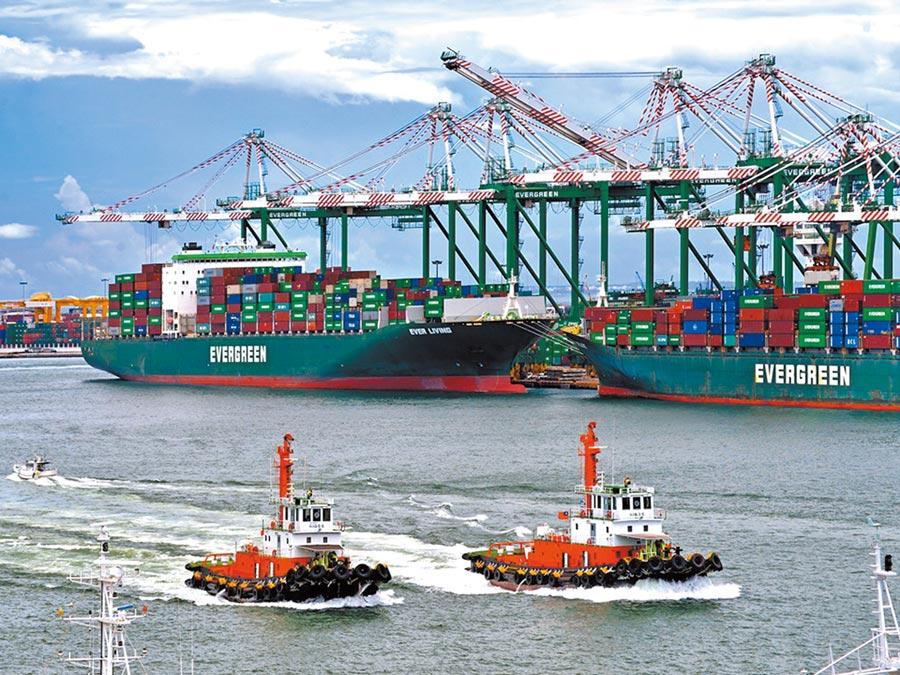 台灣5月對大陸出口占比高達45%,貿易依存度不斷飆升,反觀東協不進則退只剩14.1%。(台灣港務公司提供)