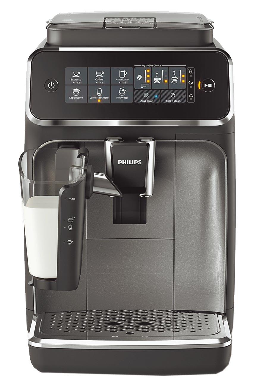 Global Mall新北中和店推飛利浦全自動義式咖啡機EP3246,原價4萬5900元,30日前優惠價3萬2500元。(Global Mall提供)