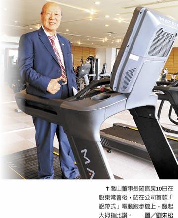 喬山健身器材 拚全球一哥