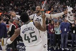 NBA》爵士主帥:戈貝爾與米契爾和好了