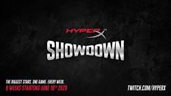 HyperX發起全新直播企劃  HyperX Showdown