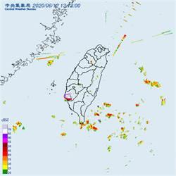 對流旺盛!9縣市大雨特報 台南嚴防大雷雨