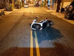 男駕流當車深夜拒檢衝撞警  車中起獲槍毒