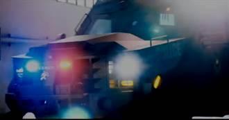 警政署新購重型裝甲車首度亮相《神鬼認證》片中大顯神威