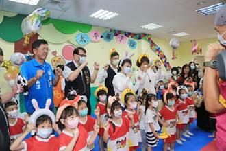 太平區親子館啟用 盧秀燕:讓市民「幸福感」