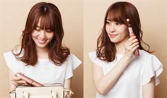 日本妞瘋搶的美髮神器!「小粉紅迷你夾」僅205g攜帶超方便