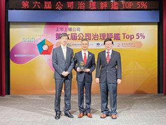中華電公司治理五連霸 列上市公司前5%