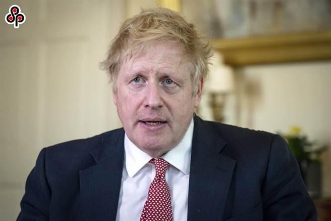 撇下港人的英國國民(海外)護照(BNO)由來,禍福相倚。圖為4月13日英國首相強森染新冠肺炎出院。(新華社/英國首相府提供)