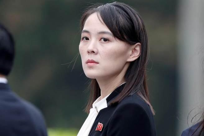 北韓最高領導人金正恩的胞妹、勞動黨第一副部長金與正。(路透)