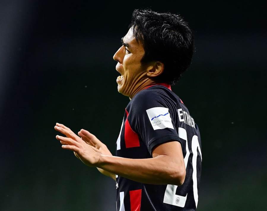 長谷部誠在德甲上陣309場,成為亞洲球員上陣最多的球員(圖片來源︰達志影像)