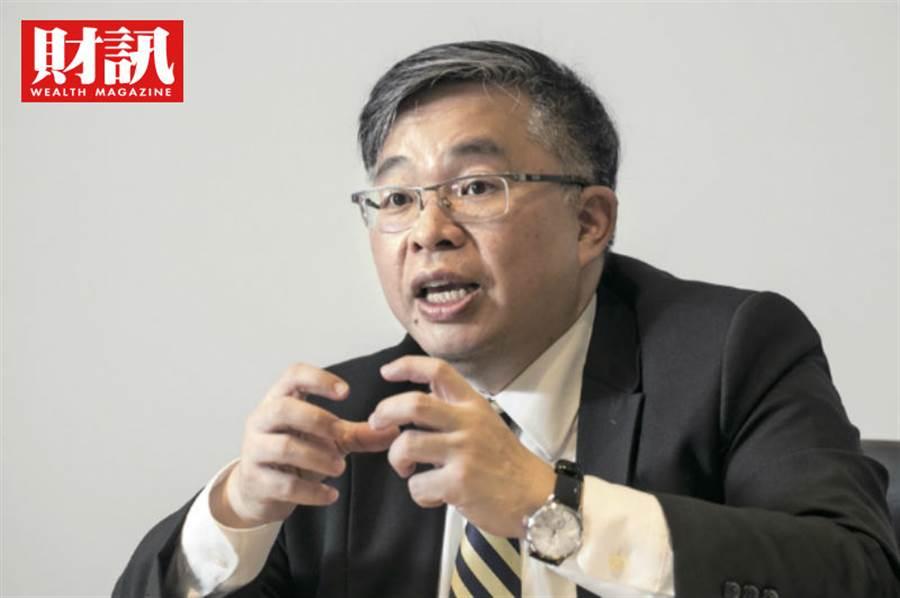 元大投信總經理黃昭棠看好「硬5G」產業未來表現。(圖/陳俊松攝)