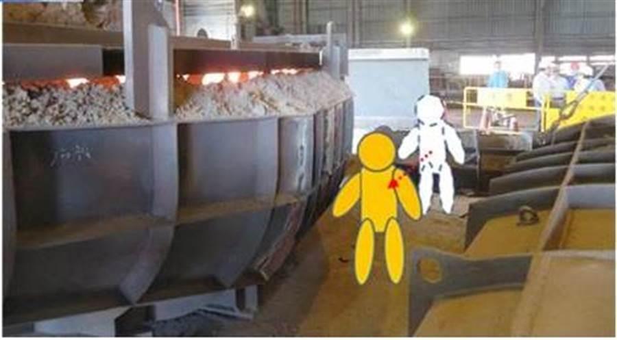 勞動部職安署掌握,上半年鋼鐵業接連造成7件重大職災、已造成7名勞工死亡。(職安署提供/林良齊台北傳真)