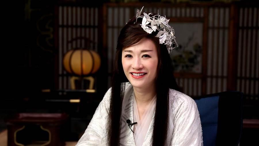 李小冉希望大家在批評長公主很壞的同時,也別忘了她演過的好人角色。(中天娛樂台提供)