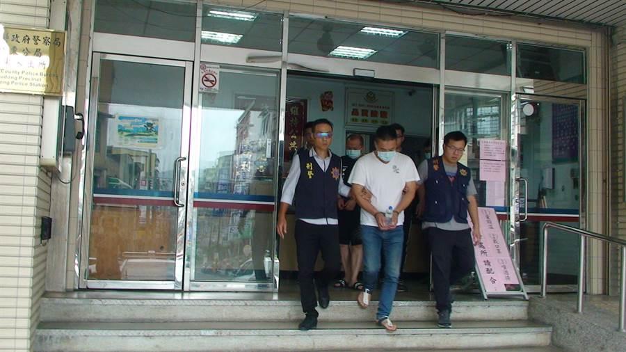 警方將許嫌等6人拘提到案,依組織、加重詐欺、偽造文書等罪嫌移送法辦。(翻攝照片/林郁平台北傳真)