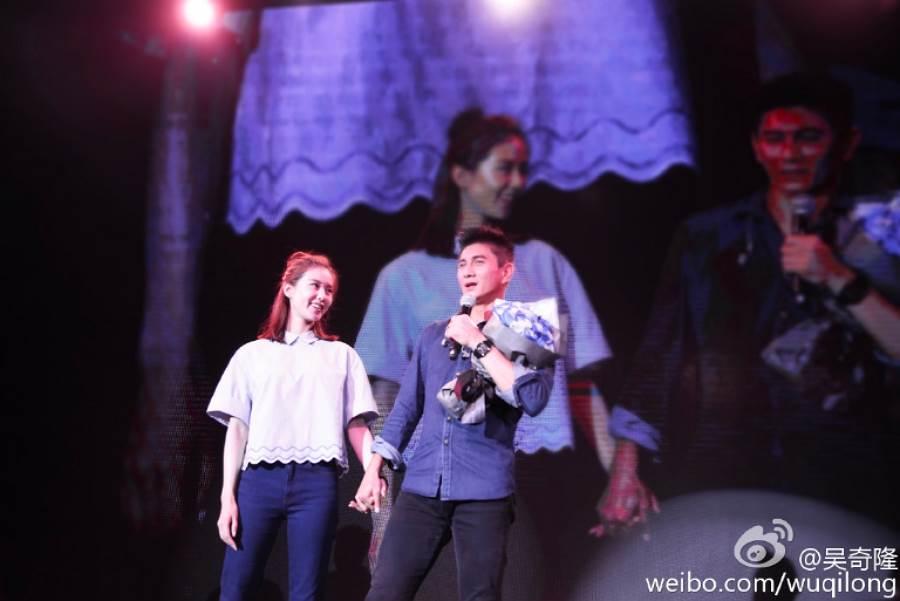 吳奇隆和劉詩詩結婚後更常公開放閃。(圖/ 摘自吳奇隆微博)
