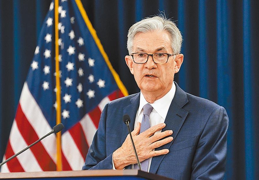 美國聯準會(Fed)承諾維持現有購債步調,也預測利率會「接近零」到2020年底,鴿派作法讓下周四將召開的中央銀行理監事會,不降息的機率大增。圖為Fed主席鮑爾。(路透)