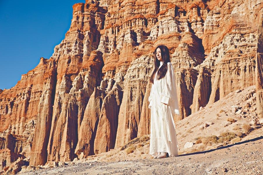 田馥甄年初遠赴美國洛杉磯取景。(何樂音樂提供)
