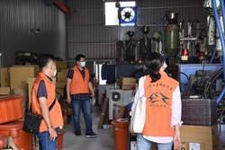 中市府再出擊稽查未登記工廠 依法要求業者限期改善