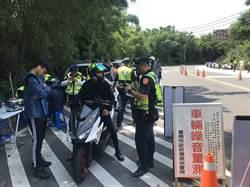 麻豆警突擊六甲山區 抓改裝違規車輛