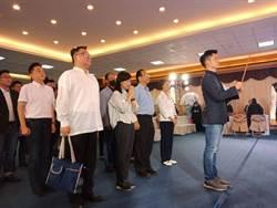 國民黨立委林奕華:千萬不要因這次挫敗而懷憂喪志