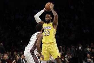 NBA》詹皇不挺厄文 強調復賽無礙抗爭