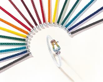 珠寶腕表 揮灑彩虹