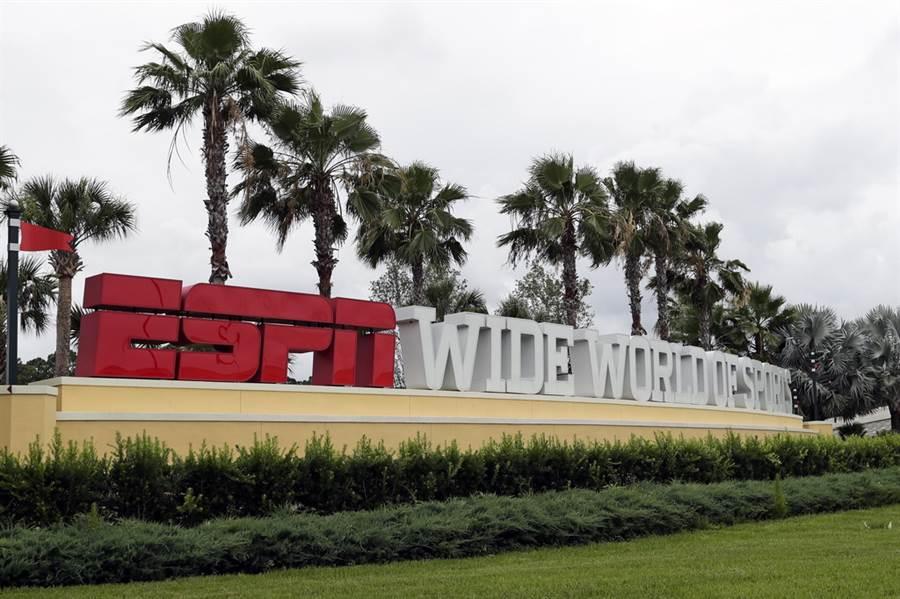 NBA本季復賽地點確定將於奧蘭多的廣闊世界體育綜合園區。(美聯社)