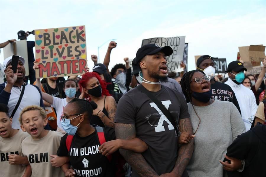 利拉德認為在復賽期間,外界還在反種族歧視抗議,讓他很難保持專注。(美聯社)