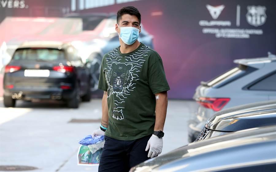 Luis SUAREZ 在於疫情期間已經養傷完畢(圖片來源︰達志影像)