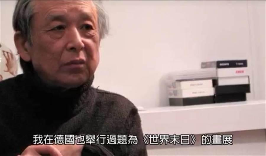 諾貝爾獎得主高行健錄製影片祝賀台師大畢業生。(台師大影片截圖/簡立欣台北傳真)