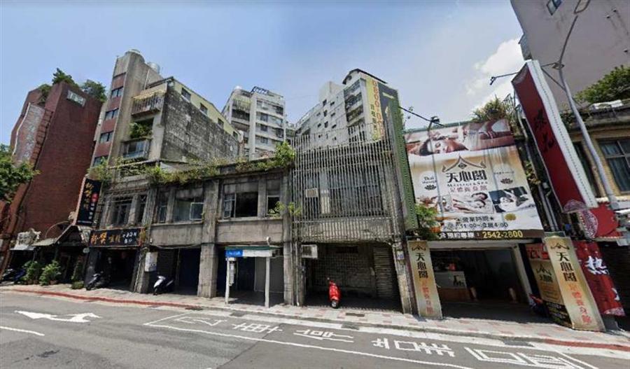 圖為台北市中山區長安東路一段91-100號一景。(圖/擷取自google map)