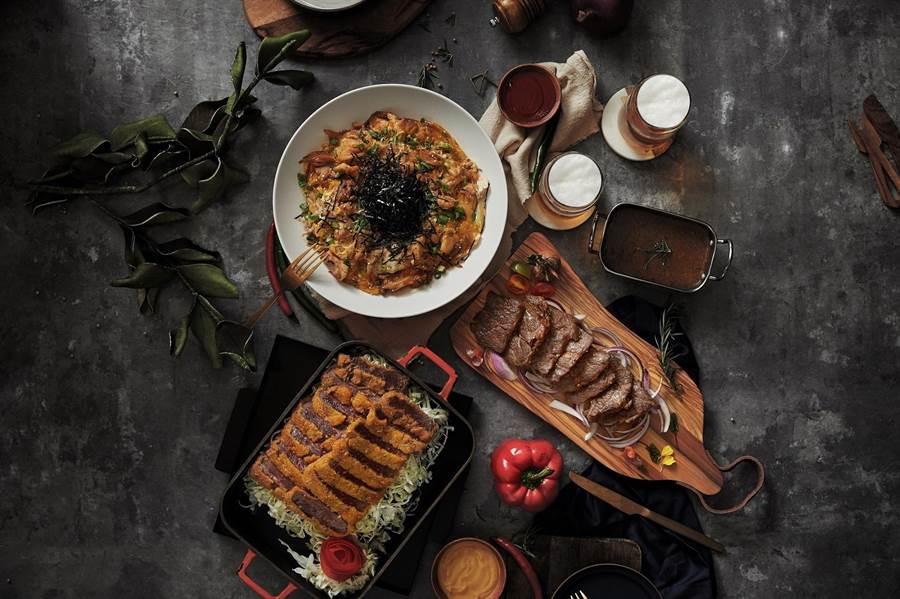 台北國泰萬怡酒店「MJ Kitchen」祭出搭配振興三倍券的餐飲優惠。(業者提供)