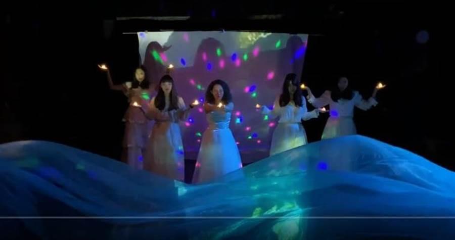 淡大俄文系畢業戲劇製作《紅帆》影片在網上發佈。(淡大俄文系提供)