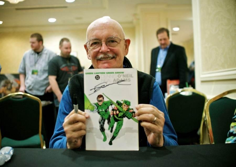 《蝙蝠俠》之父逝世!傳奇漫畫家丹尼歐尼爾壽終正寢 享壽81歲(圖/ 摘自推特)
