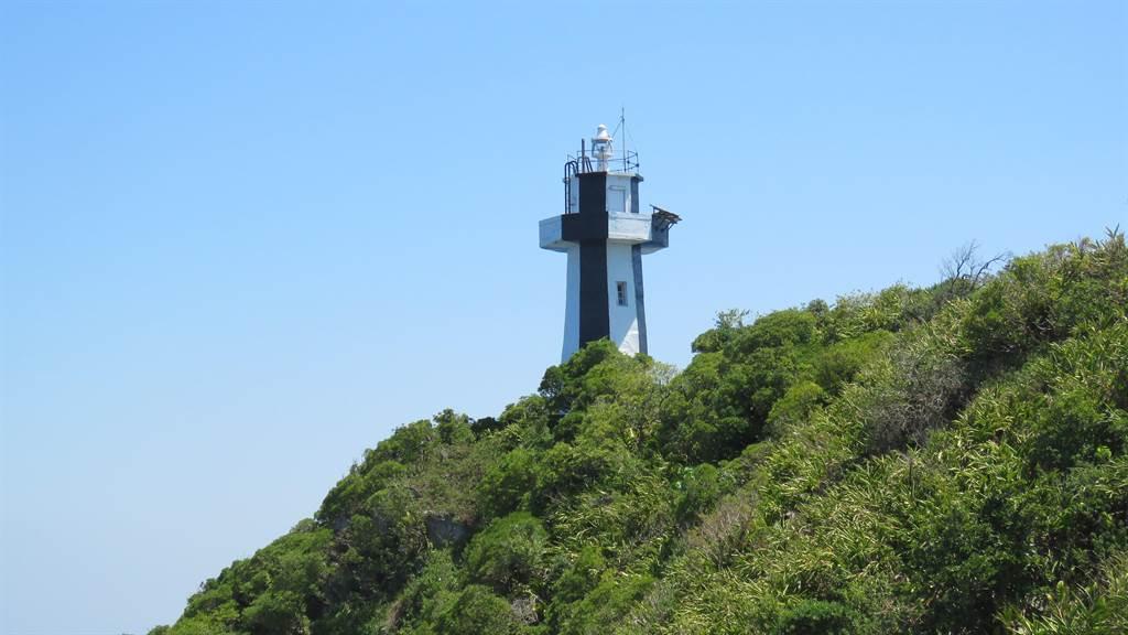 預計7月中開放民眾登上基隆島燈塔,欣賞360度環繞海景。(許家寧攝)