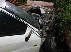 轎車卡平交道 太魯閣自強號高速間撞爛…