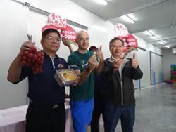 吳鳳4度C冷鏈廠狂吃台中美荔 頻讚好消暑