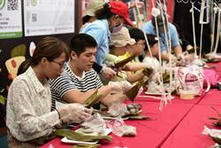 端午節到 滷味博物館廣場舉辦DIY包肉粽