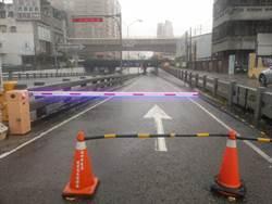 台中市午後瞬間暴雨襲擊 水利局:各區公所戒備