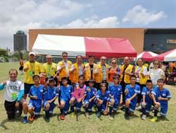 台東縣豐里國小榮獲全國少年盃足球錦標賽五年級男生學校組冠軍