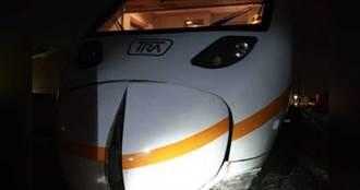 汽車搶快卡平交道遭火車撞 駕駛辯:沒聽到警鈴
