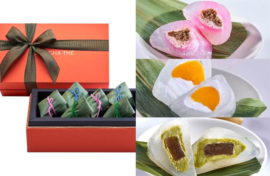 端午必吃Q彈慕斯冰粽!加碼4款茶香蛋糕搭絕配桂花烏龍(圖/品牌提供)