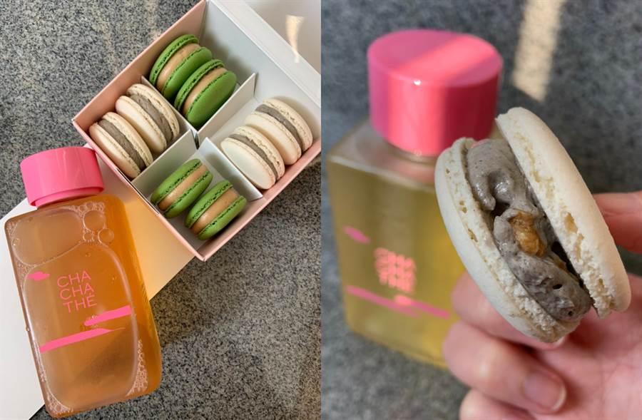 端午必吃Q彈慕斯冰粽!加碼4款茶香蛋糕搭絕配桂花烏龍(圖/楊婕安攝)