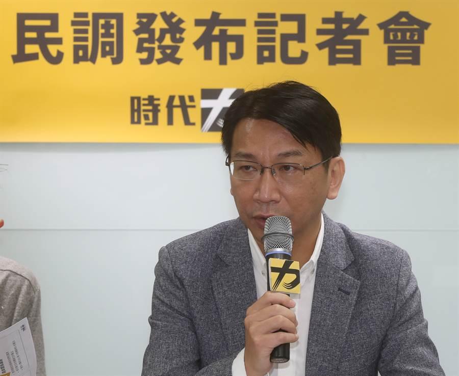 時代力量黨主席徐永明。(資料照片,陳君瑋攝)