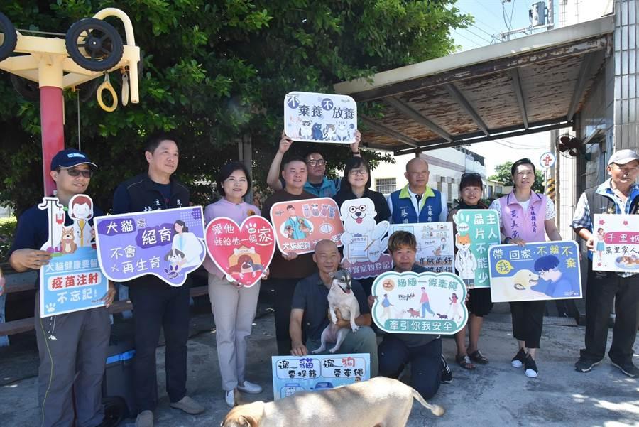 雲林縣政府加強流浪犬貓絕育,打造動物友善城市。(張朝欣攝)