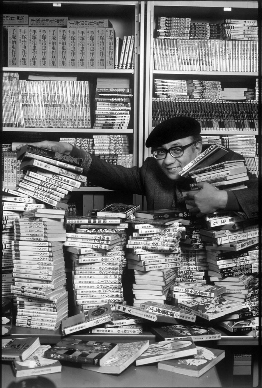 已故漫畫家手塚治虫擁有「漫畫之神」的封號,一生創作超過700部作品。(攝影/勝山泰佑,大塊文化提供)