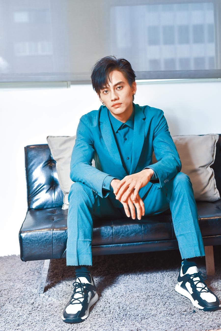 范少勳去年拿下金馬獎最佳新演員,今年晉升挑戰拚台北電影獎影帝。(盧禕祺攝/品牌協力BOSS)