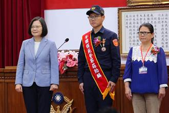 全國模範警察表揚 鐵警李承翰姊夫入選